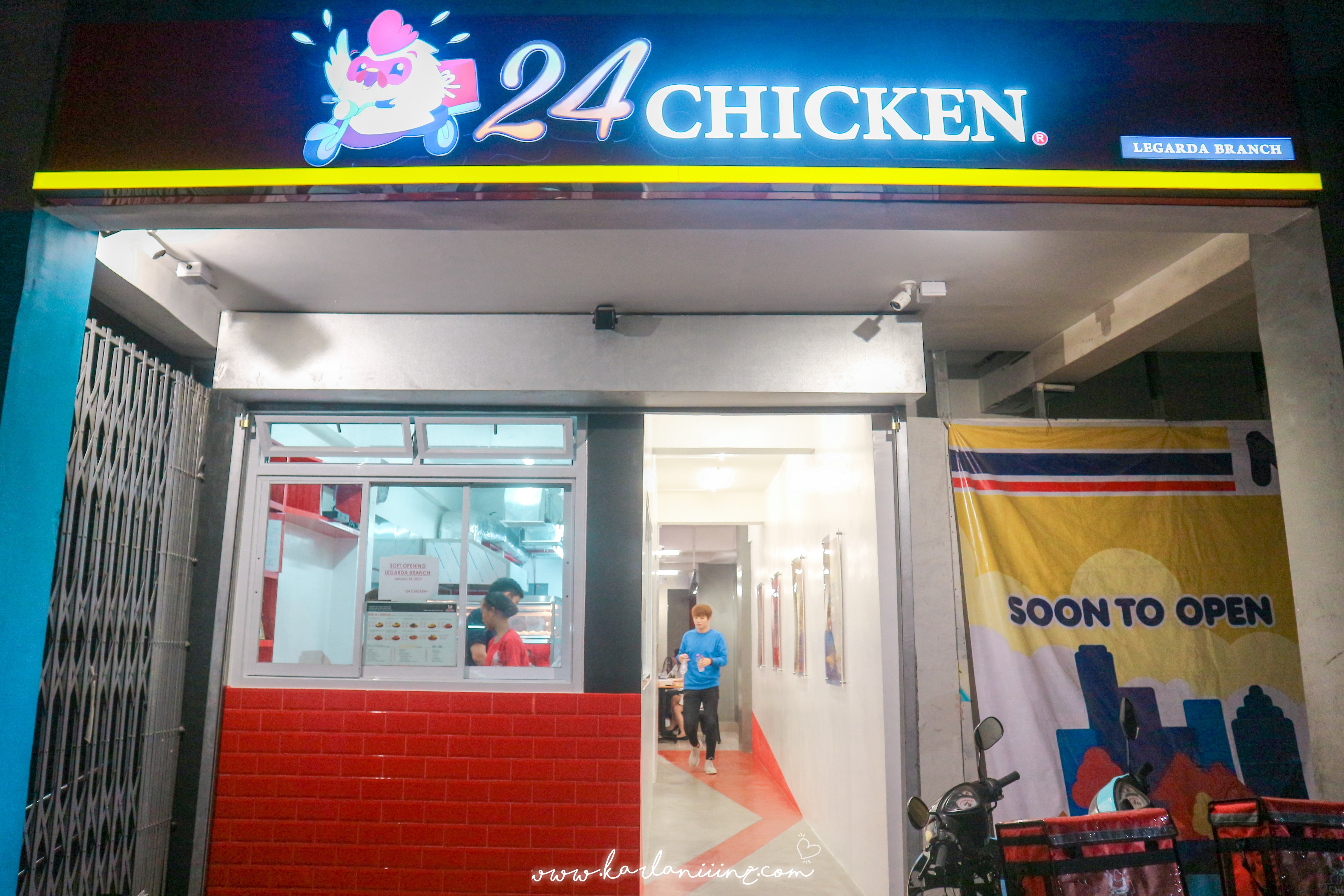24 chicken legarda